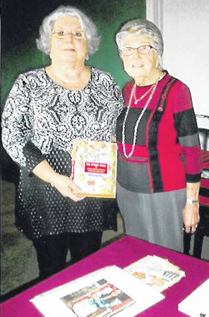 The Hillsboro Woman's Club met Sept. 11 at the Frog and Club Restaurant at the Hillsboro Elks. Sheila Maggard from Peebles presented a program on aprons with assistance from Catherine Plummer. Club members also brought aprons and spoke about their's. The club's next meeting will be held Oct. 9 at the Highland County Senior Citizens Center in Hillsboro.