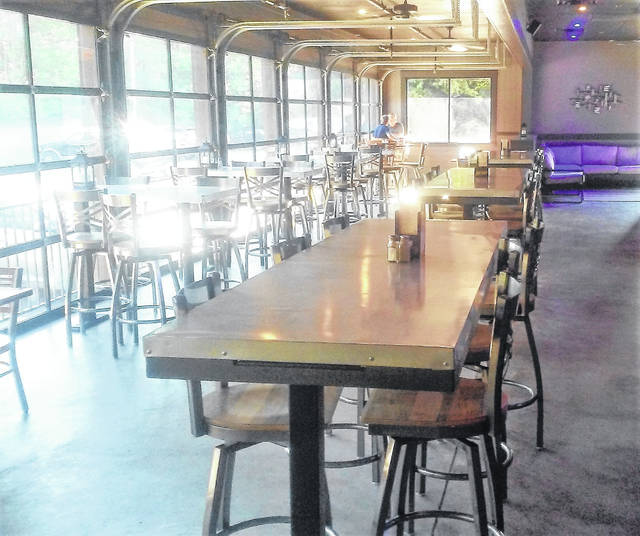 "The newly remodeled ""Patio at Alley 21"" is bright, spacious and family-friendly, according to the owners."