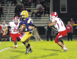 McClain has no answer for Jackson in 55-0 home loss