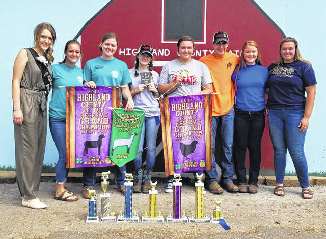 Fairfield FFA members were active in the 2018 Highland County Fair. Paige Teeters was a Jr. Fair Board member and had the Reserve Grand Champion Market Lamb, Reserve Showman, Grand Champion Ewe, Grand Champion Ram, first and second in sheep class, first and second in open show hog, first place Hampshire Ewe class, and also second and fourth place Jr. Fair Hogs. Alexis Tompkins was a member of Jr. Fair Board, first place nail box and third place sunflower. Allyce McBee served as the poultry ambassador, first place in her class for her Market Meat Pen Chicken, and first place in her class showmanship. Teigan Thackston received first place in the Avian Bowl, third place overall in Poultry Judging, third in showmanship, as well as two firsts and one sercond place in art. Gracie Lawson won Reserve Grand Champion for her Market Meat Pen Chicken. Bri Burleson was second in her Market Goat Class and was the a fair queen atendant. Kohler Bartley received third place in his Market Meat Pen Chickens. Rachel Schuler was a member of Jr. Fair Board and placed third in her class with her Market Meat Pen Chickens. Many other members received awards with their fair projects and represented the Fairfield FFA well.