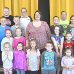 Lynchburg-Clay Elementary School Students of the Month