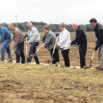 Breaking ground for clinic