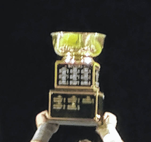 The Rotary Bowl trophy.