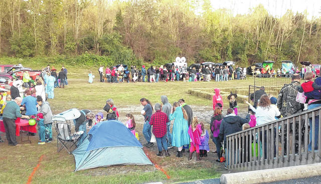 "The Hillsboro Church of the Nazarene held its annual ""Trunk or Treat"" event Wednesday on the church grounds on U.S. Route 50. Pastor Tom Zile told The Times-Gazette that the church wanted to provide a safe alternative to the traditional beggar's night with a Christian twist. He estimated that between 500 and 600 children enjoyed the event, which is now in its eighth year."