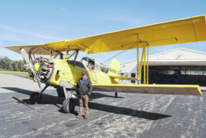 New crop duster plane in Highland County