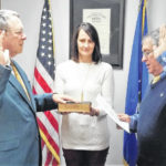 Abernathy sworn in during commissioners meeting
