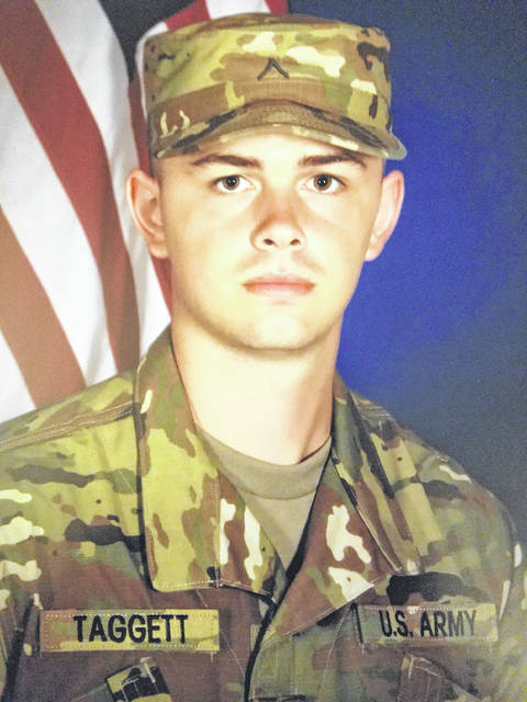 Zackary Tyler Quinton Taggett, a 2015 Whiteoak High School graduate, recently graduated from basic training in Auguest, then graduated from AIT on Nov. 6. He has done all his training at Fort Sill in Oklahoma. Hes coming home for Thanksgiving before leaving for Germany. His parents are Judy and Lee Palmer.