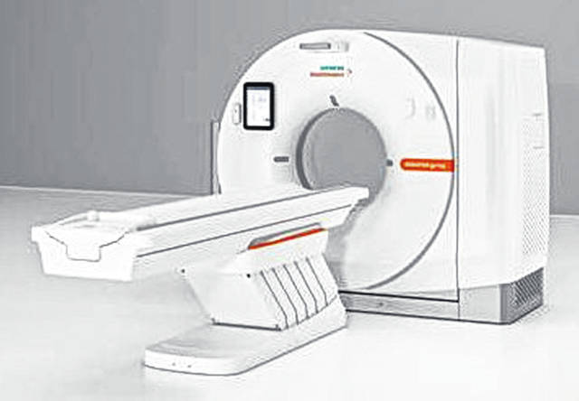 Highland District Hospital's new CT scanner delivers high image quality and low radiation dose for all patients.