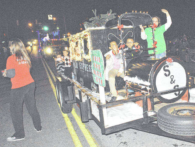 A scene from a past Hillsboro Lighted Christmas Parade is shown in this photograph. This year's Hillsboro parade will be held Saturday, Dec. 8.