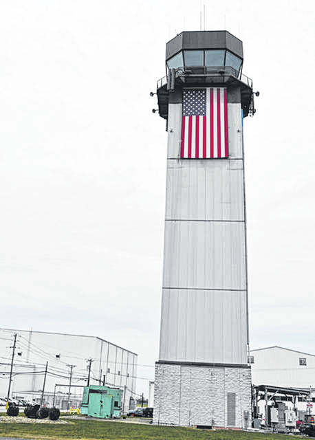 The control tower at the Wilmington Air Park is expected to again be utilized for daily flights after Amazon opens a new air gateway operation at the air park.