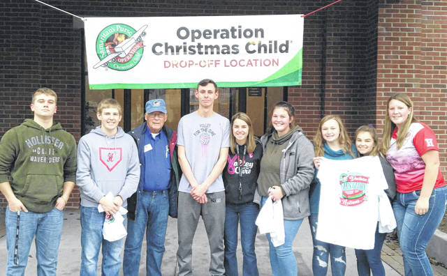 Pictured, from left, are Jacob B., Grant C., Zane A., Jordan W., Claire W., Jenna G., Kirsten H. and Haley H.