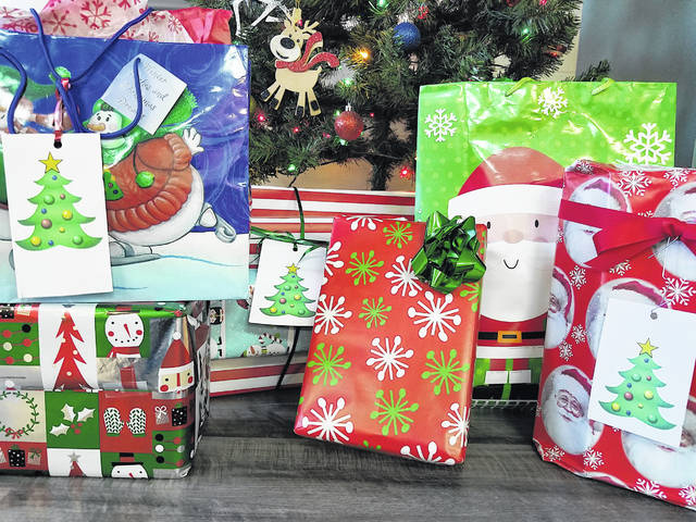 These are the packages one Lynchburg-Clay student will receive this year through Christmas Blessings.