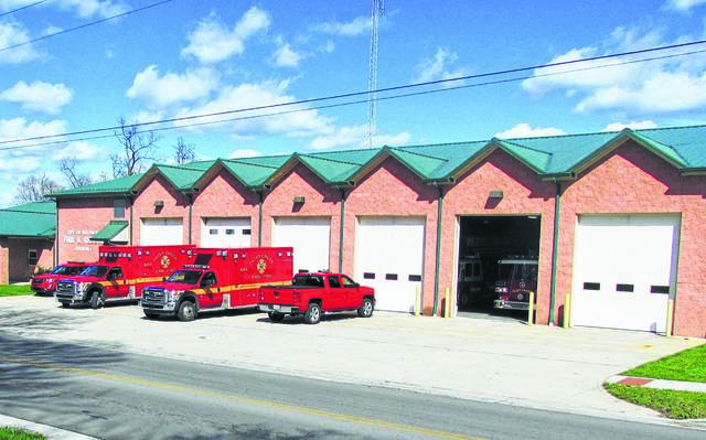 Shown is the City of Hillsboro's fire station on North East Street currently occupied by the Paint Creek Joint EMS/Fire District.