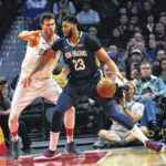 Agent: Anthony Davis tells New Orleans that he wants a trade