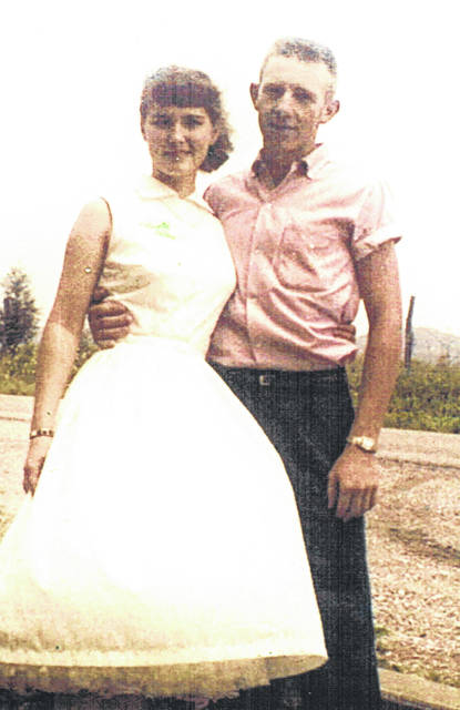 Sinking Spring residents Jim and Nina Couser are pictured around the time they were married.