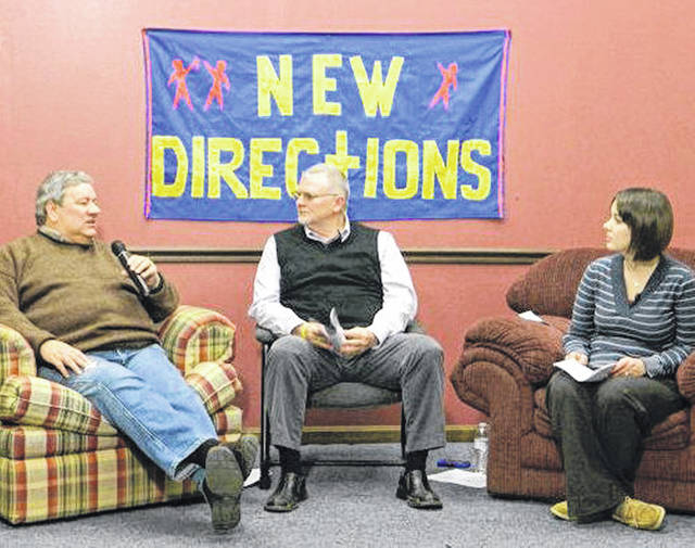 Adults involved in New Directions are pictured during a past telethon. This year's telethon will be held from 7-9 p.m. Tuesday, Jan. 22.