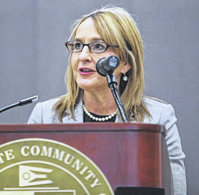 Melissa Elmore is stepping aside as executive director of the Highland County Chamber of Commerce effective Jan. 31.