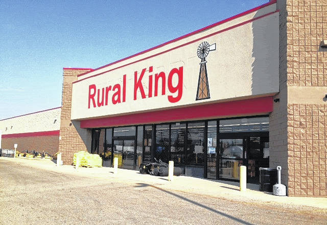 Shown is a Rural King store located in Xenia, Ohio.
