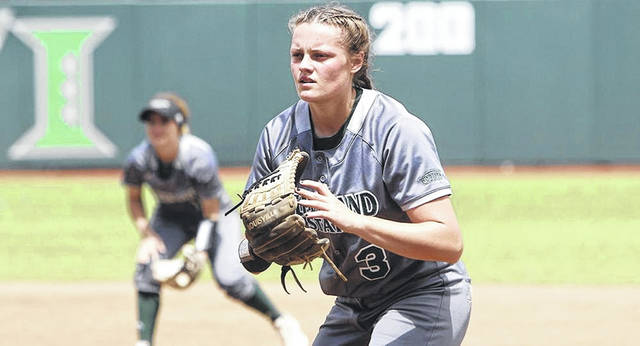 2016 Hillsboro High School graduate Hanna Breeden started her third season as a member of the Cleveland State Lady Vikings softball team on a high note on Friday, Feb. 15, in Greenville, NC. Breeden had two hits and two RBI against the East Carolina Lady Pirates despite the Lady Vikings losing 9-8. Breeden is a career .310 for the Lady Vikings and has recorded 72 hits, 12 doubles, one triple and one home run during her collegiate career. Hanna also has 29 RBI, 25 walks and eight stolen bases in just over two seasons with the Lady Vikings.