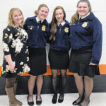 Fairfield places in public speaking contests