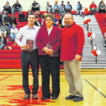 Jarrod Hart and Julie Kiefer inducted into Hillsboro High School Athletic Hall of Fame Tuesday, Feb. 5