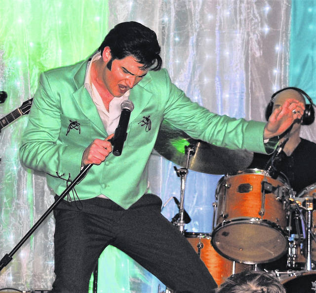 "Elvis tribute artist Tyler Christopher proved he was the ""Big Boss Man"" at Saturday's concert fundraiser at the Highland County Senior Citizens Center. The sold-out concert was enjoyed by more than 250 Elvis fans of all ages, according to center director Mechell Frost, who told The Times-Gazette that plans are already being made for a return engagement next year of The King of Rock 'n' Roll."