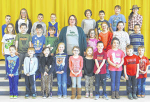 Lynchburg-Clay Elementary March Students of the Month