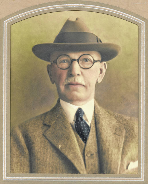 This photo, one of dozens of undated, unidentified pictures kept by the Highland County Historical Society, depicts an unidentified man with round spectacles and a porkpie hat. Do you know who he is? Where the photo might have been taken? When it might have been taken? We're interested. Call us at 937-393-3456, email us at HTGinfo@timesgazette.com or visit us on Facebook at www.facebook.com/TheTimesGazette.