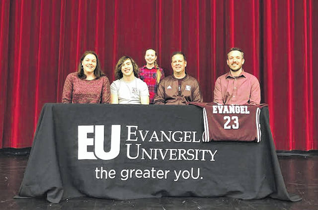 Hillsboro's Logan Crafton signed his letter of intent to continue his education and soccer career with Evangel University. Evangel University is located in Springfield, Missouri and is an NAIA school that competes in the Heart of America Athletic Conference. Crafton plans to major in Digital Arts.