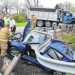 2 hurt in afternoon wreck at U.S. Route 50/Mad River Road