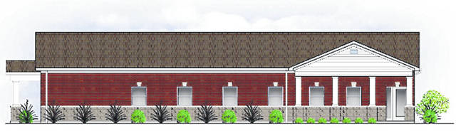 This is the new Rocky Fork Medical Center located at 11130 North Shore Drive.