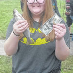 $100 winners at Kid's Trout Derby
