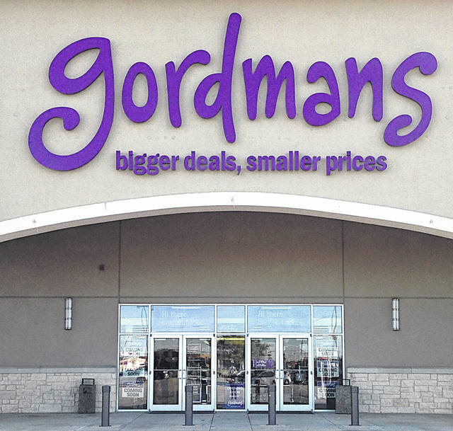 This is an example of a Gordmans storefront.