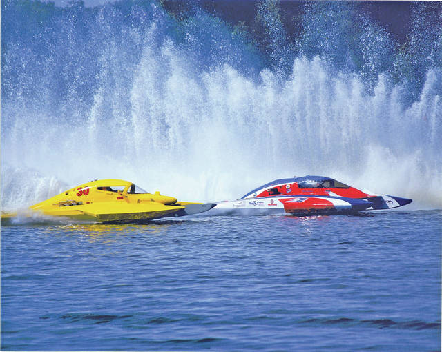 Hydroplane boat races scenes like this one will play out again July 20-21 at Rumble in the Hills.