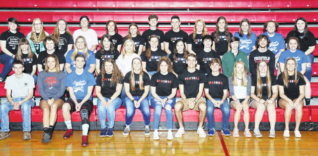 Members of the Fairfield Local Schools National Honor Society are shown in this picture.