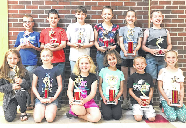 Winners of the Hillsboro Post Office Stamp Out Hunger Poster Contest are shown in this picture.