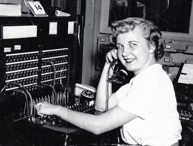 This photo, one of dozens of undated, unidentified pictures kept by the Highland County Historical Society, depicts a young woman operating a switchboard. Do you know who she is? Where the photo might have been taken? When it might have been taken? We're interested. Call us at 937-393-3456, email us at HTGinfo@timesgazette.com or visit us on Facebook at www.facebook.com/TheTimesGazette.