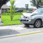 One driver injured in two-vehicle crash