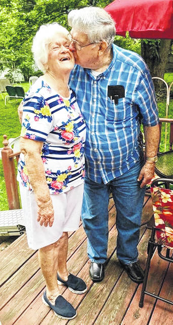 Lynchburg residents Glen and Mary Herdman will celebrate their 64th wedding anniversary on Monday, July 1. They were married July 1, 1955,
