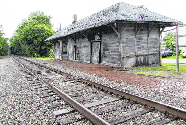 This is the train depot in Leesburg, which the Leesburg Area Historical Society recently purchased from CSX Corp.