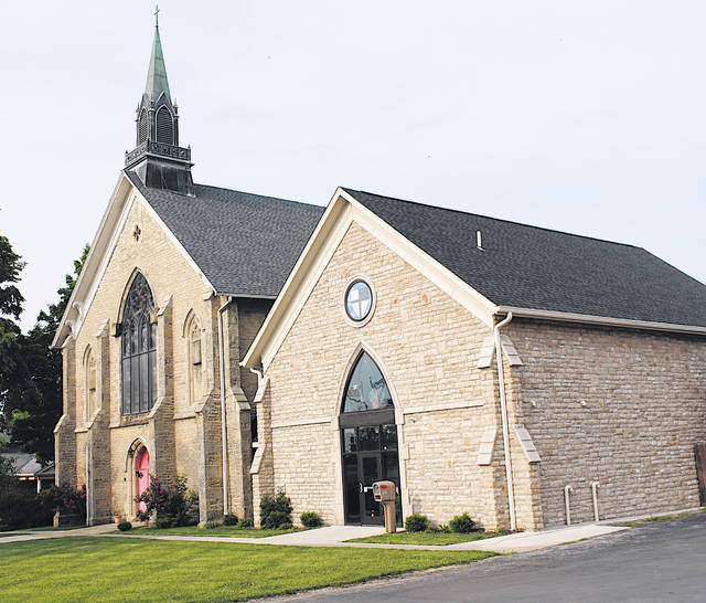 St. Mary's Episcopal Church in Hillsboro will be one of the stops on this year's Highland County Historical Society Tour of Homes and Historic Buildings.