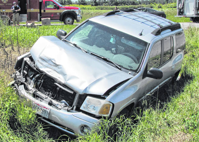 There were no injuries, but substantial damage to both vehicles, following a collision Friday afternoon at the intersection of SR 124 and Anderson Road.