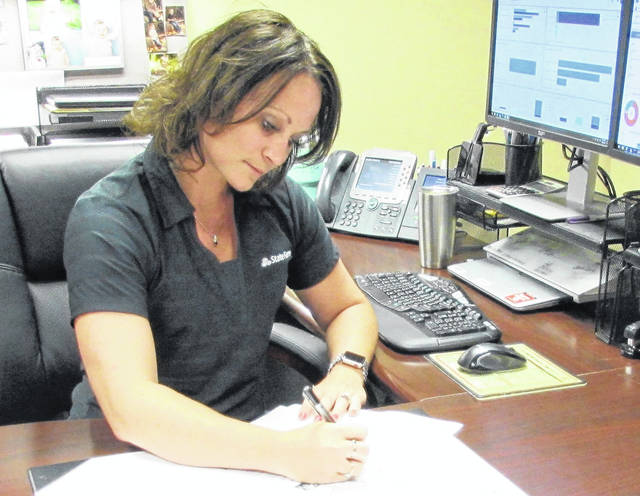 Local State Farm Insurance agent Amatha Ferrens said she can see an increase in distracted driver-caused crashes from the accident claims that cross her desk.