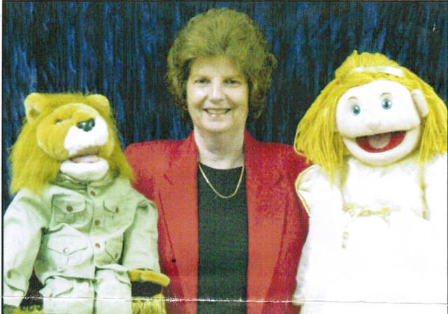 Ventriloquist Cookie & Friends, aka Mary Frances Fields, will be the guests for a youth service at 6 p.m. Sunday, Sept. 8 at the Greenfield Church of Christ in Christian Union, 503 N. McClain Ave.
