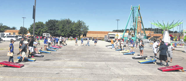 "During the Festival of the Bells, the Hillsboro FFA put on an annual cornhole tournament. They had a good turnout of 23 teams. The first, second, and third place teams, respectively, were John Adams and Chuck Miller, Brandon and Darin Hill, and Michael Curry and James Cumberland. Winnings of $100 to the first place team, $80 to the second place team and $50 to the third place team were rewarded. The cash purse was split with the other half going to the Hillsboro FFA to help do more things for the chapter and community. Brian Cummings, one of the advisors for the Hillsboro FFA chapter said, ""We had a great turnout this year. We hope to be able to keep the ball rolling for next year."""