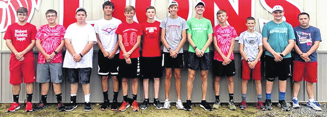 The 2019 Fairfield boys cross country team is shown in this picture.