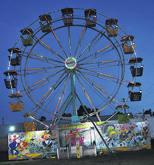 This Ferris wheel will be one of 15 rides offered by Premium Shows of America, a new company the Highland County Senior Fair Board contracted to provide rides at the fair this year.