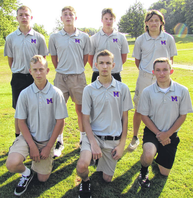The McClain High School 2019 boys golf team is shown in this picture.
