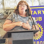 Wise speaks to Rotary Club