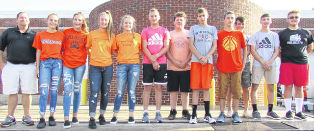 Pictured is the 2019 Whiteoak Wildcat cross country team.